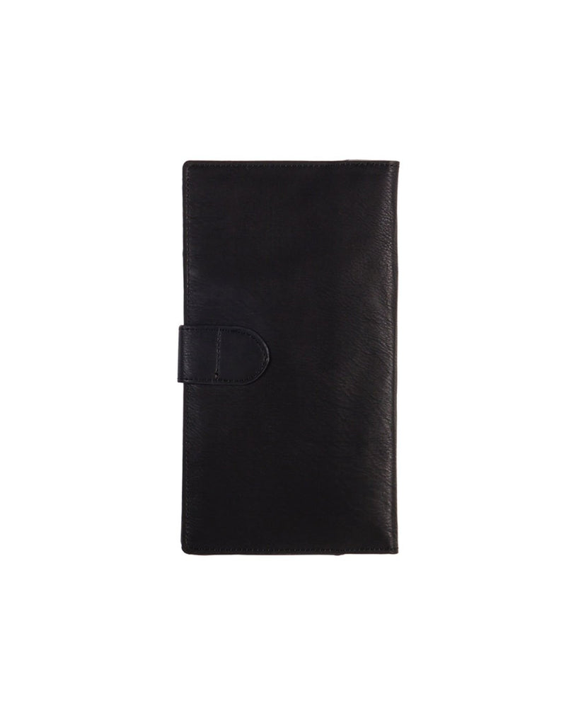 B. boutique document organizer black colour front view