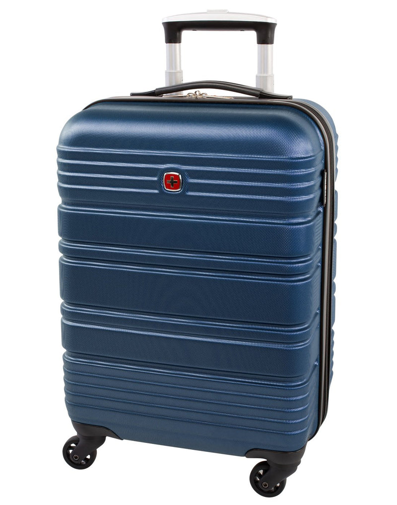 "Swiss gear aristocrat ii 19"" spinner luggage bag front view"