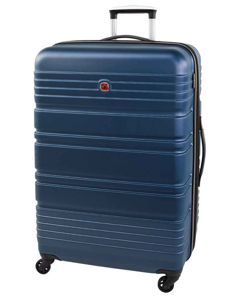 "Swiss gear aristocrat ii 28"" expandable spinner luggage bag front view"