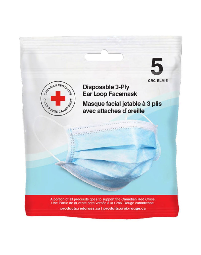 Disposable face masks 5pk