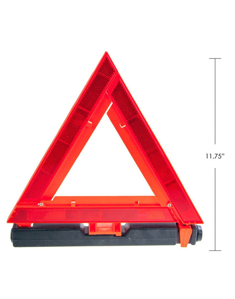 Roadside warning triangle size
