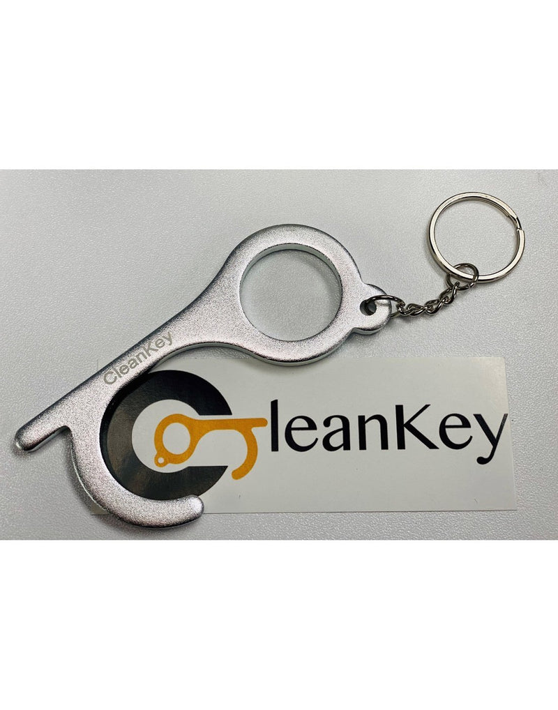 Cleankey hand tool gunmetal silver colour front view