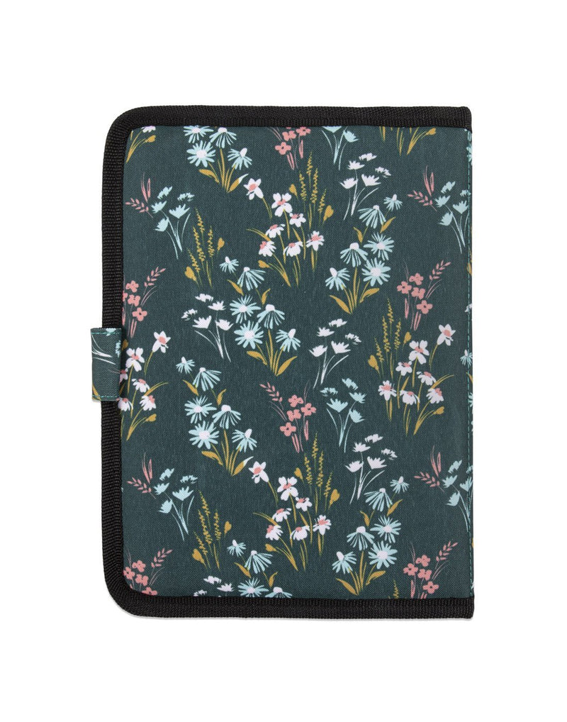 Bondstreet on-the-go ultimate sanitary pack floral colour back view