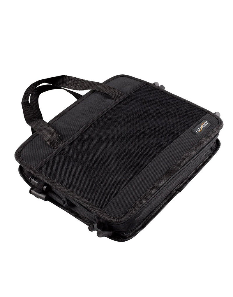 High road 3-in-1 cargo cooler tote black colour compressed view
