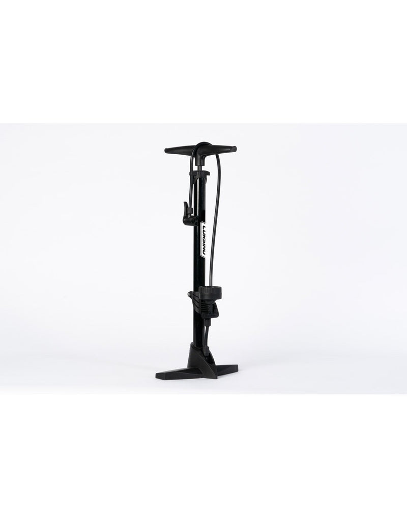Corsino bike floor pump black colour hero shot