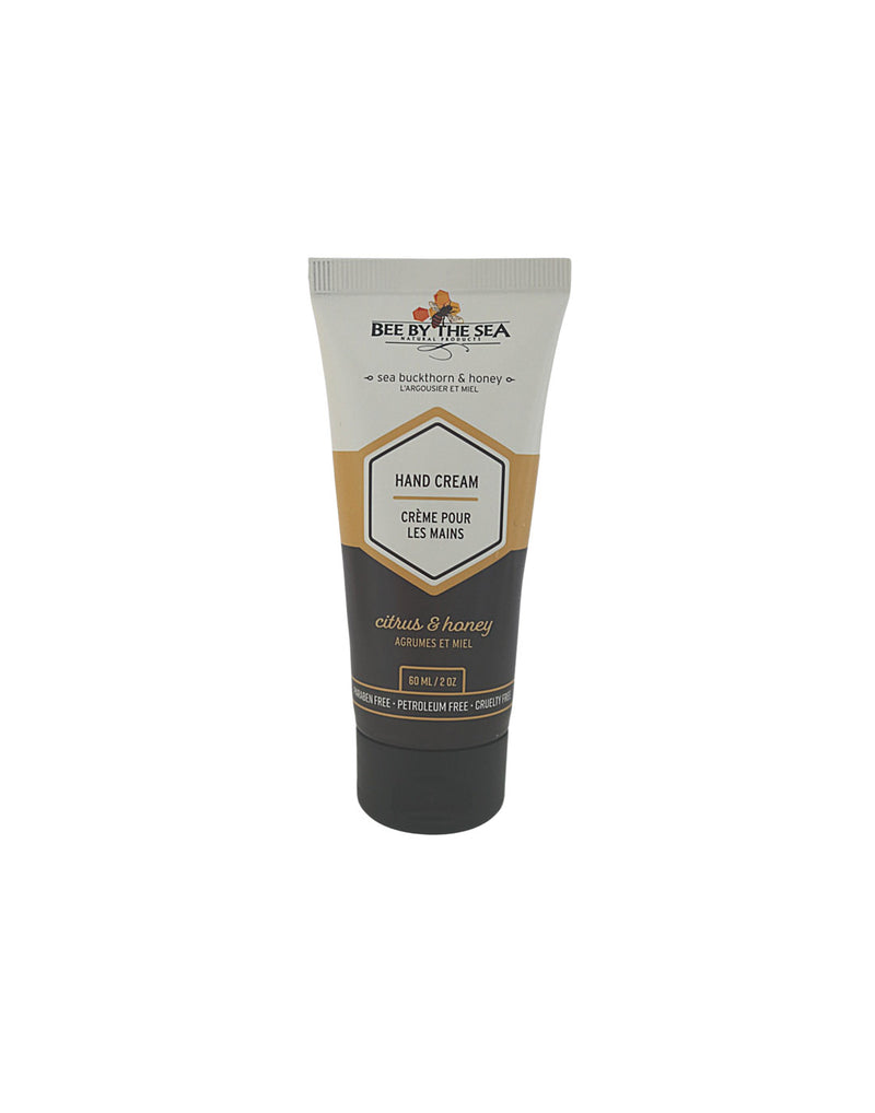Bee by the Sea Hand Cream Tube - 2 oz - citrus and honey scent