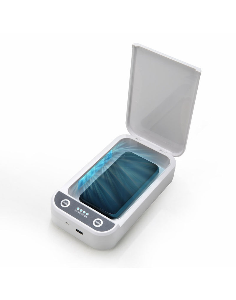 Travelon portable UV sanitizer box UV-C lights