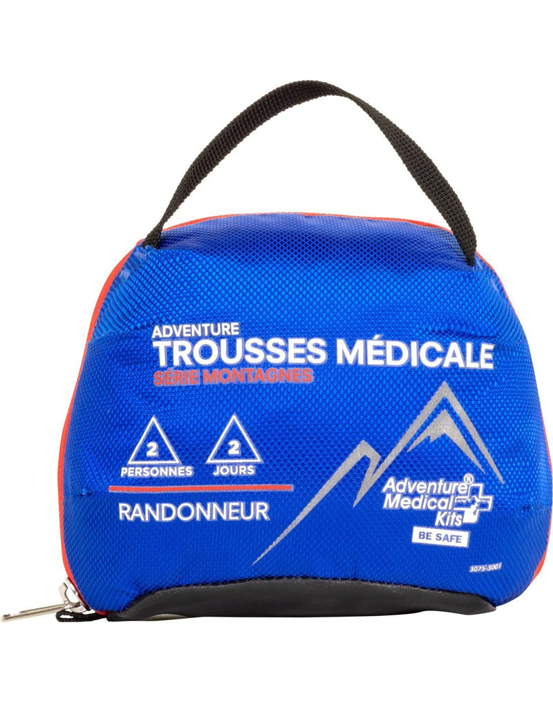 Adventure medical kits back view