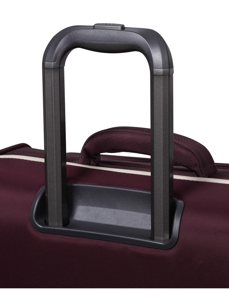 "It encircle 31"" spinner wine red colour luggage bag trolley"