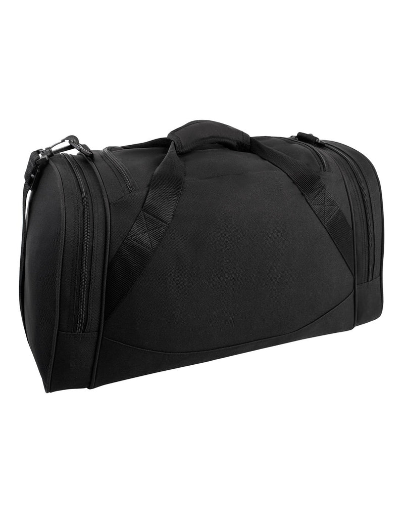 Bench sports black colour duffle bag back view