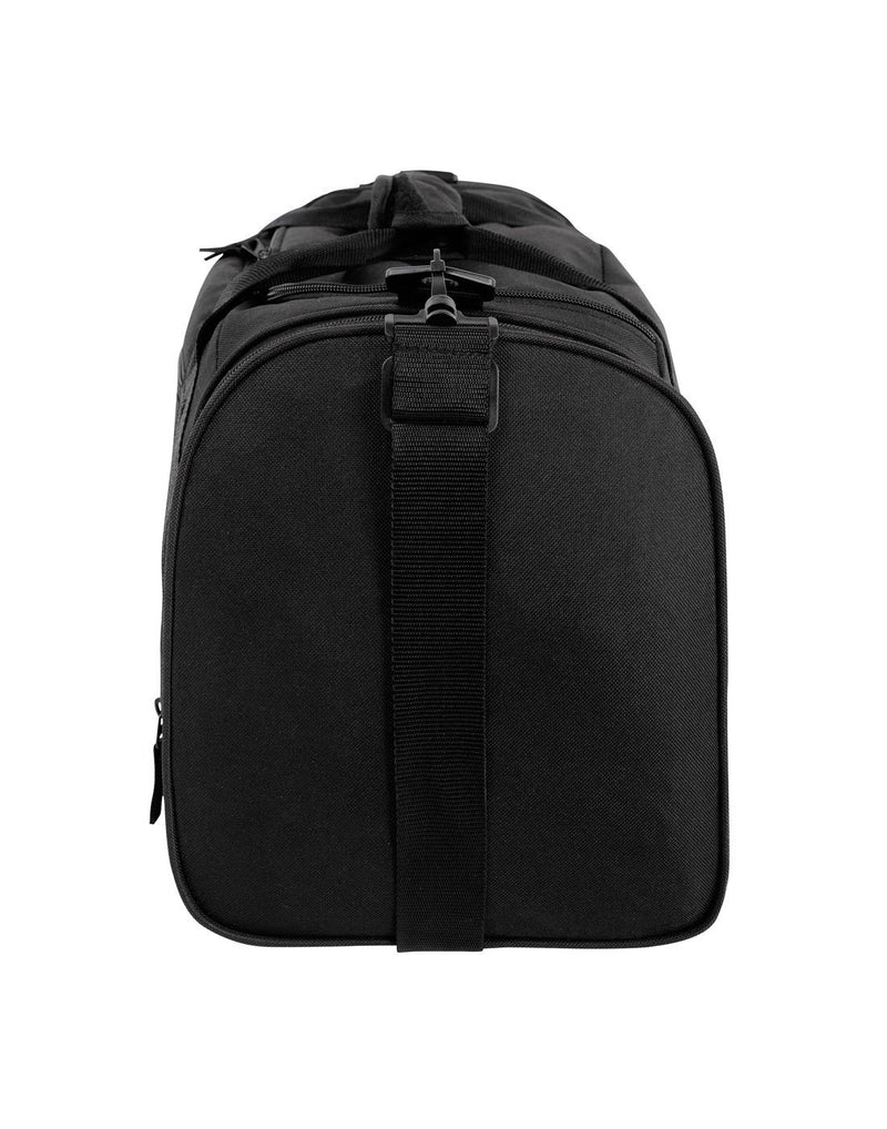 Bench sports black colour duffle bag left side view