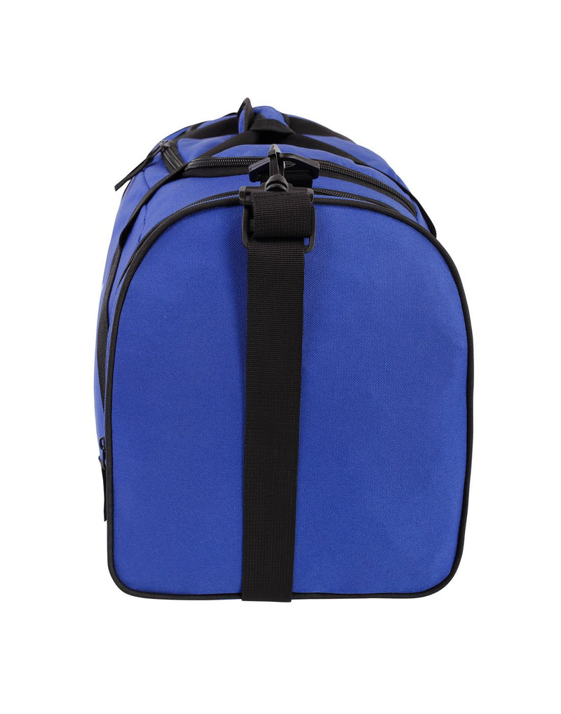 Bench sports blue colour duffle bag left side view