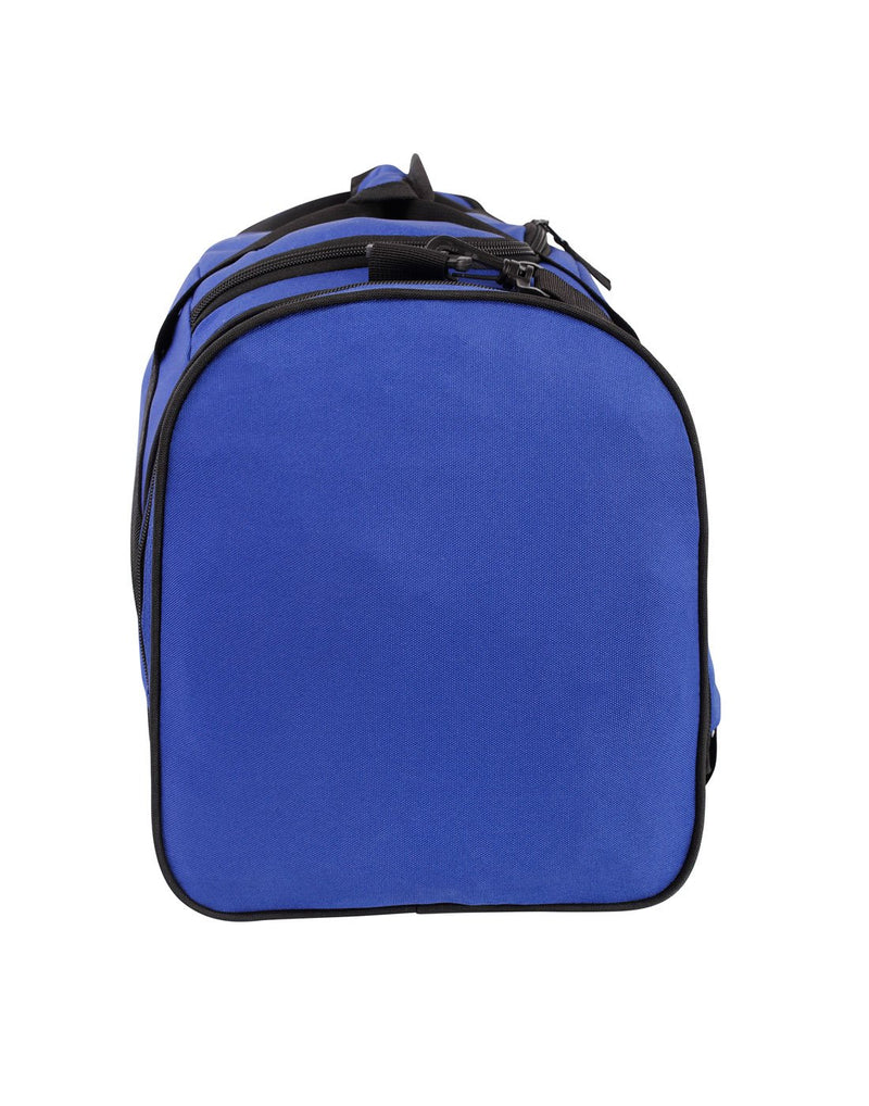 Bench sports blue colour duffle bag right side view