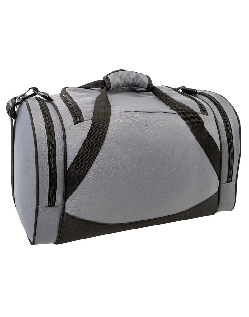 Bench sports grey colour duffle bag back view