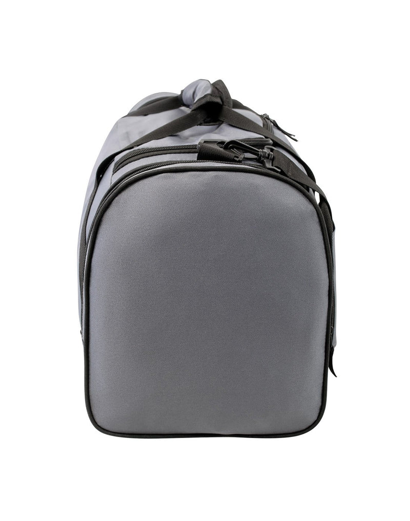 Bench sports grey colour duffle bag right side view