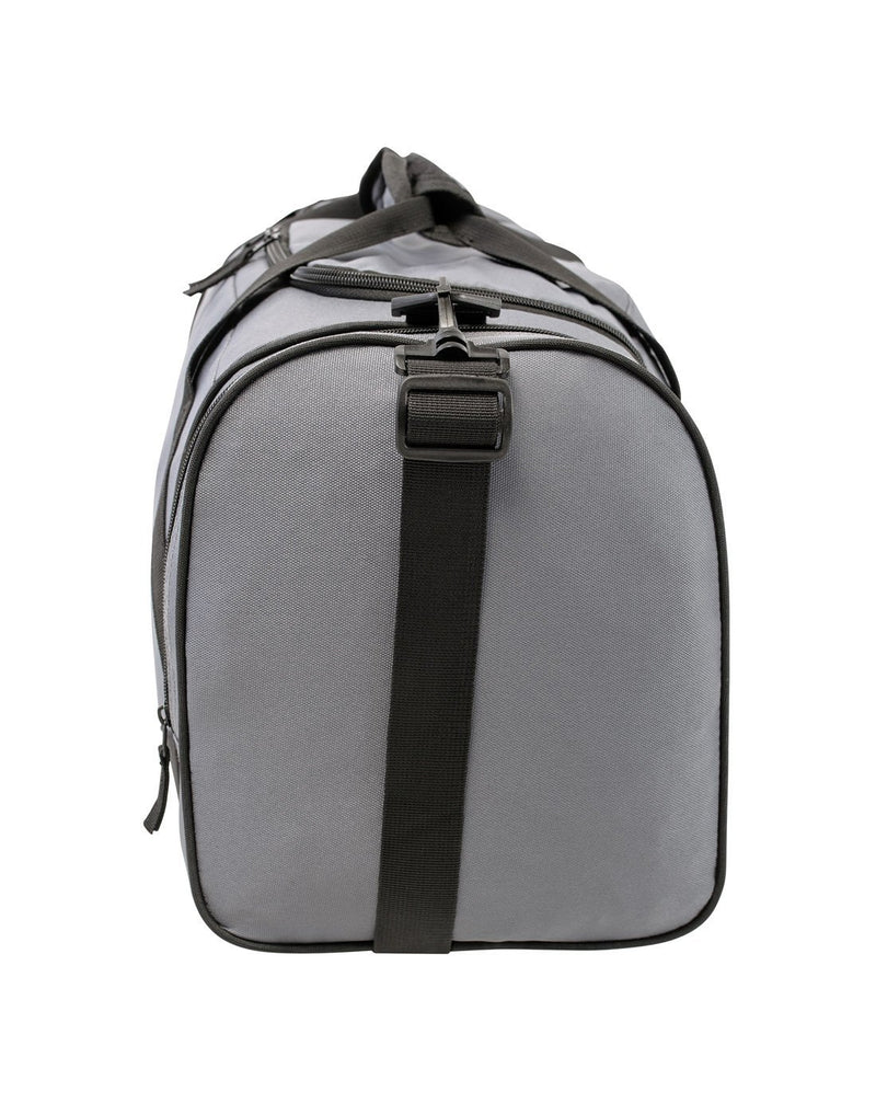 Bench sports grey colour duffle bag left side view