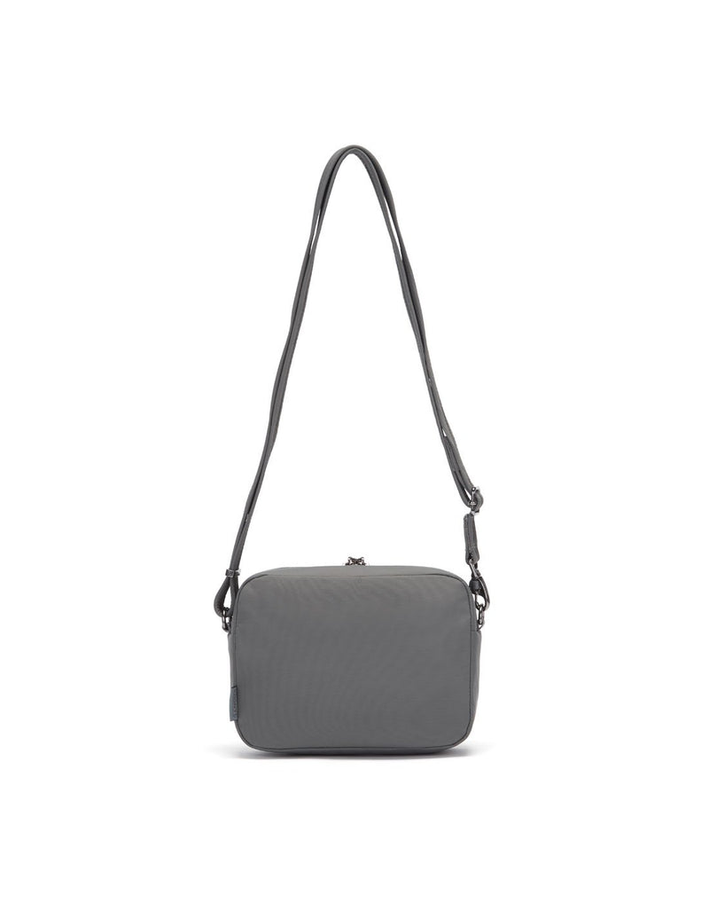 Citysafe cx econyl anti-theft square crossbody purse back view