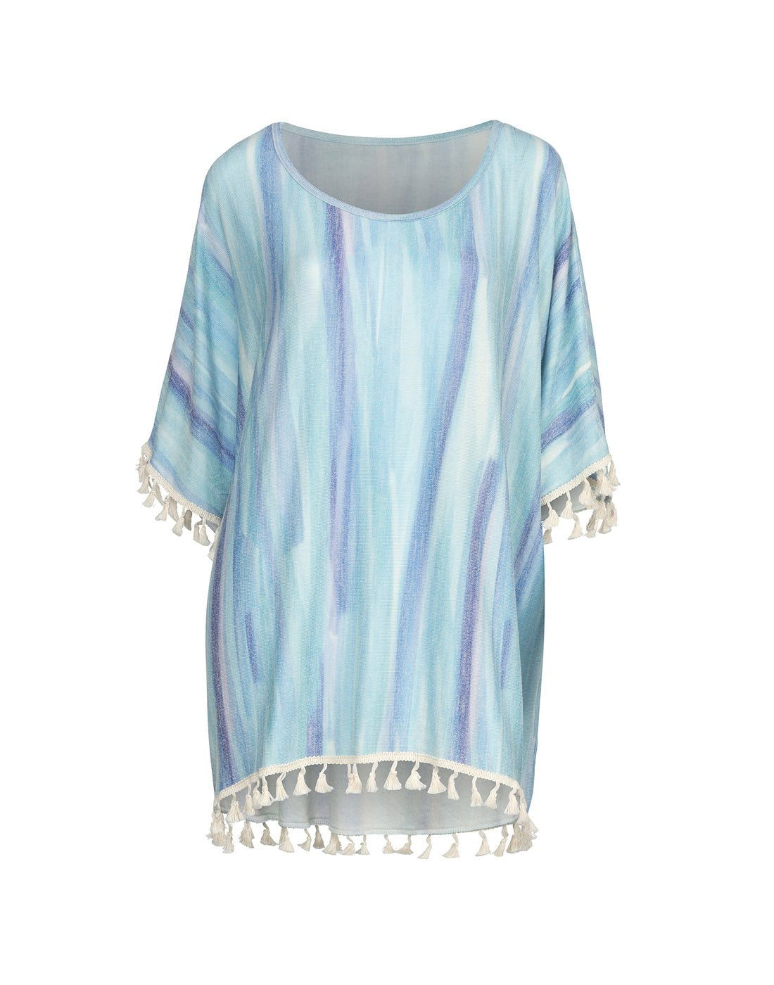 Elsie & Zoey Watercolour Beach Cover-Up