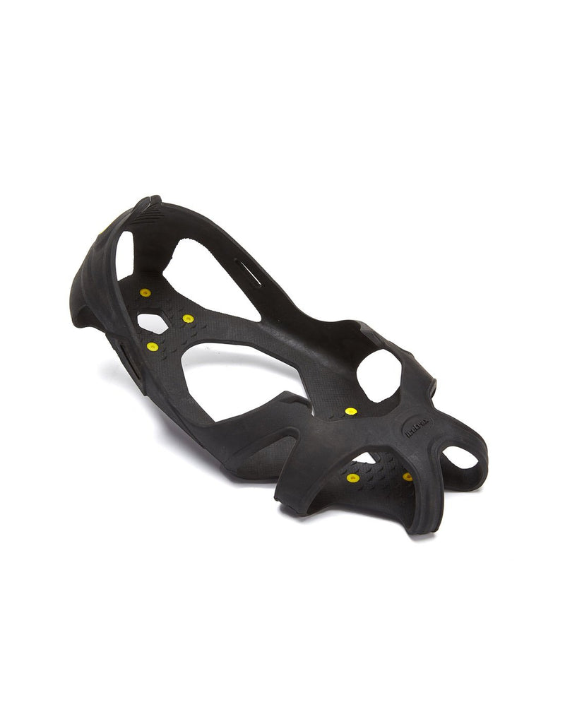 Icetrax V3 tungsten ice cleats with velcro straps front view
