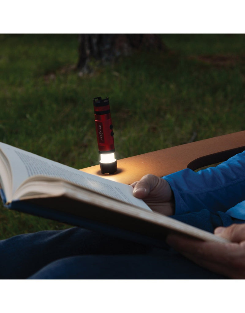 Nite ize radiant® 3-in-1™ led mini flashlight lantern using for study