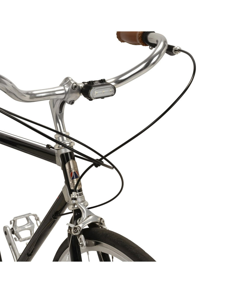 Using radiant® 50 bike light horizontally