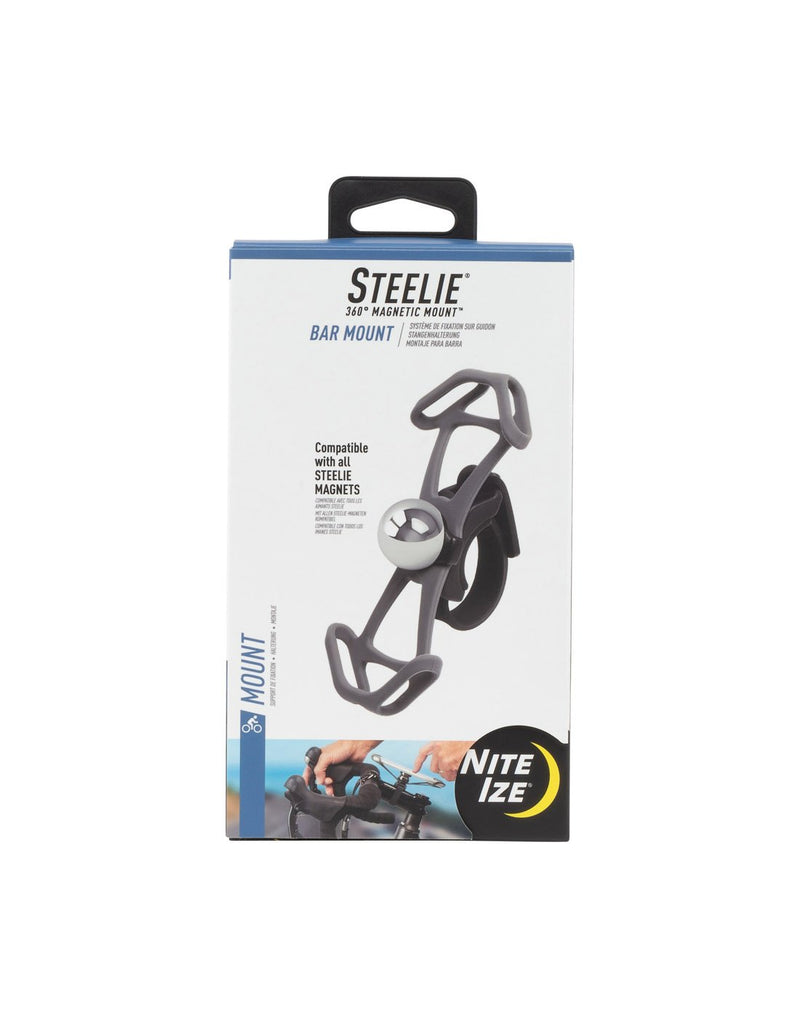 Nite ize steelie® bar mount component packing front view