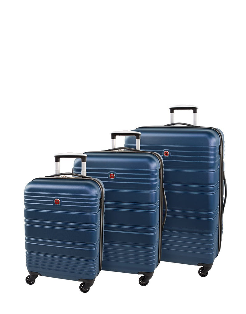 "Swiss gear aristocrat ii 19"" spinner luggage bag product set"
