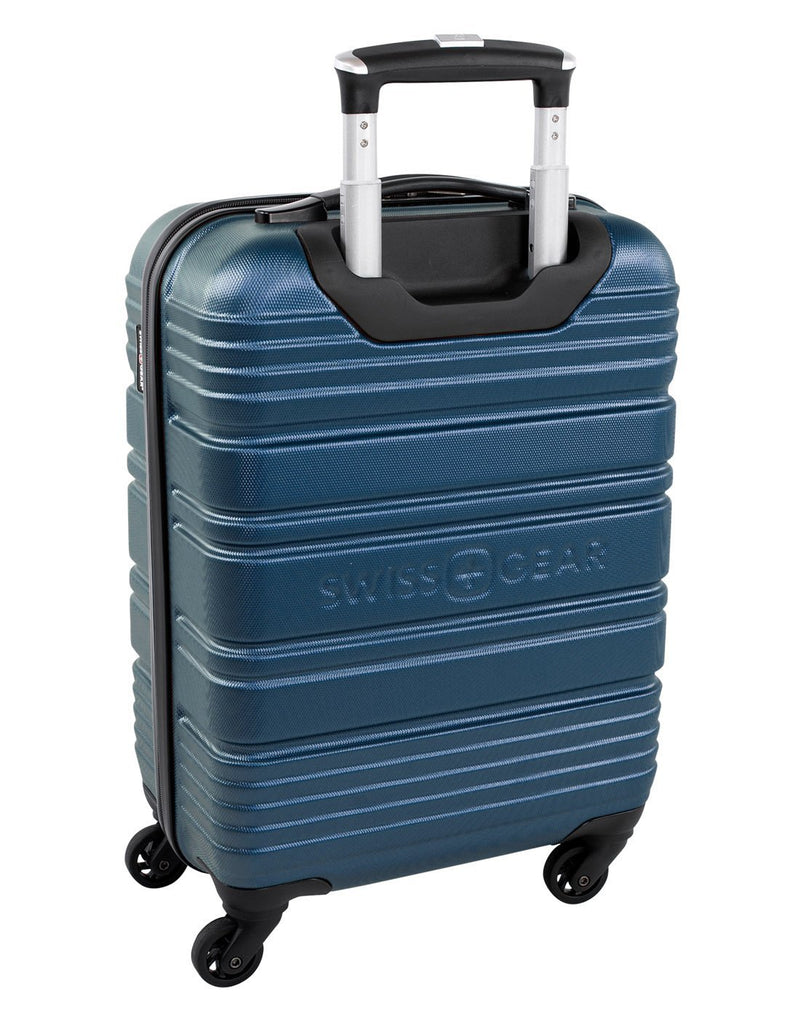 "Swiss gear aristocrat ii 19"" spinner luggage bag back view"