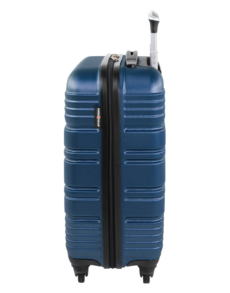 "Swiss gear aristocrat ii 19"" spinner luggage bag left side view"