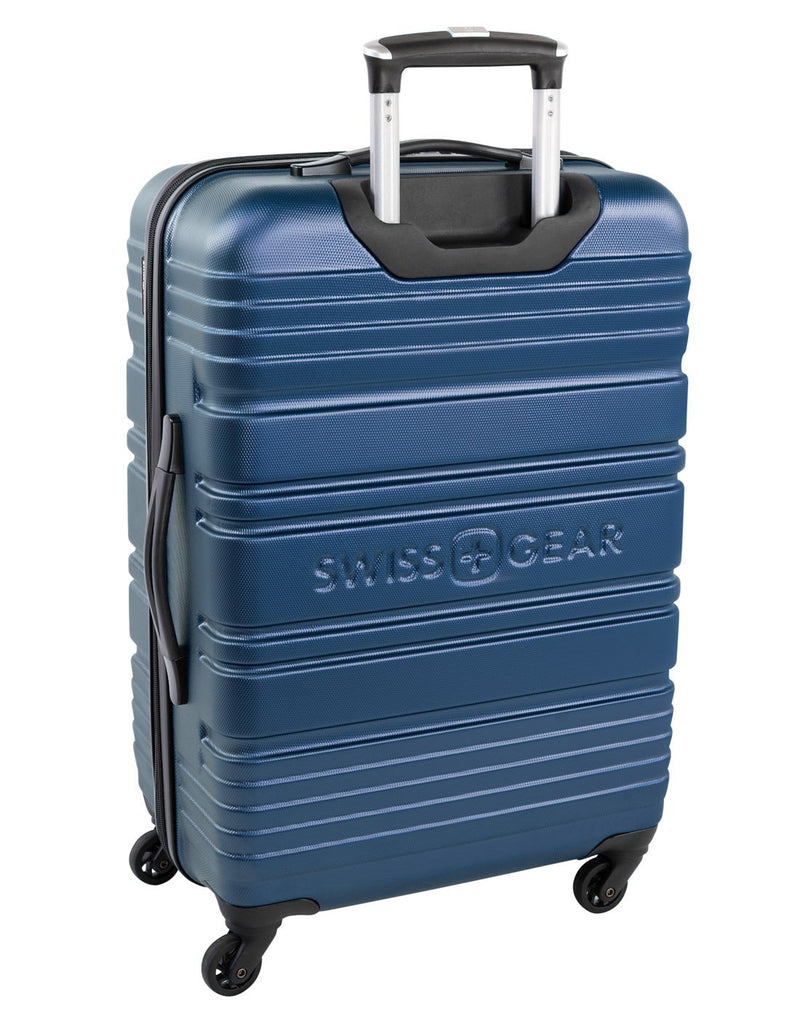 "Swiss gear aristocrat ii 28"" expandable spinner luggage bag back view"