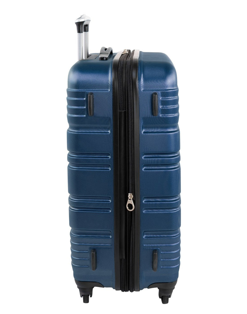 "Swiss gear aristocrat ii 28"" expandable spinner luggage bag right side view"