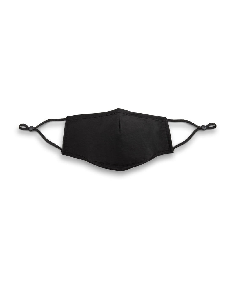 Bondstreet on-the-go ultimate sanitary pack black colour mask01 front view