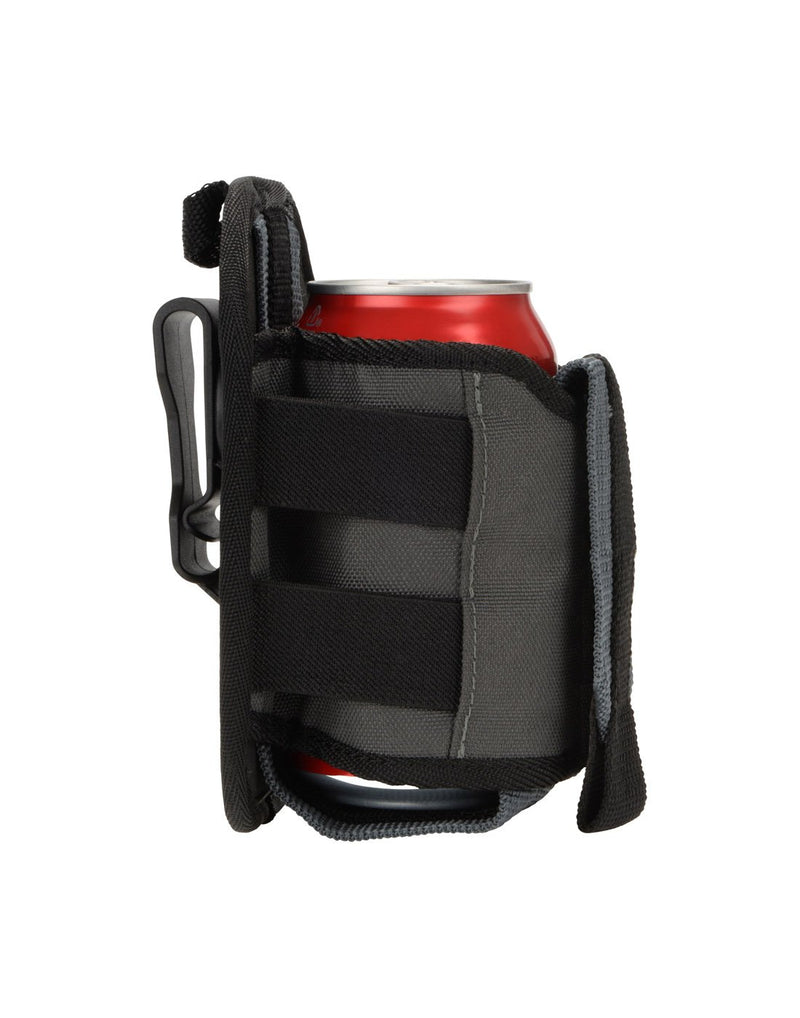 Nite ize traveler™ drink holster side view with can