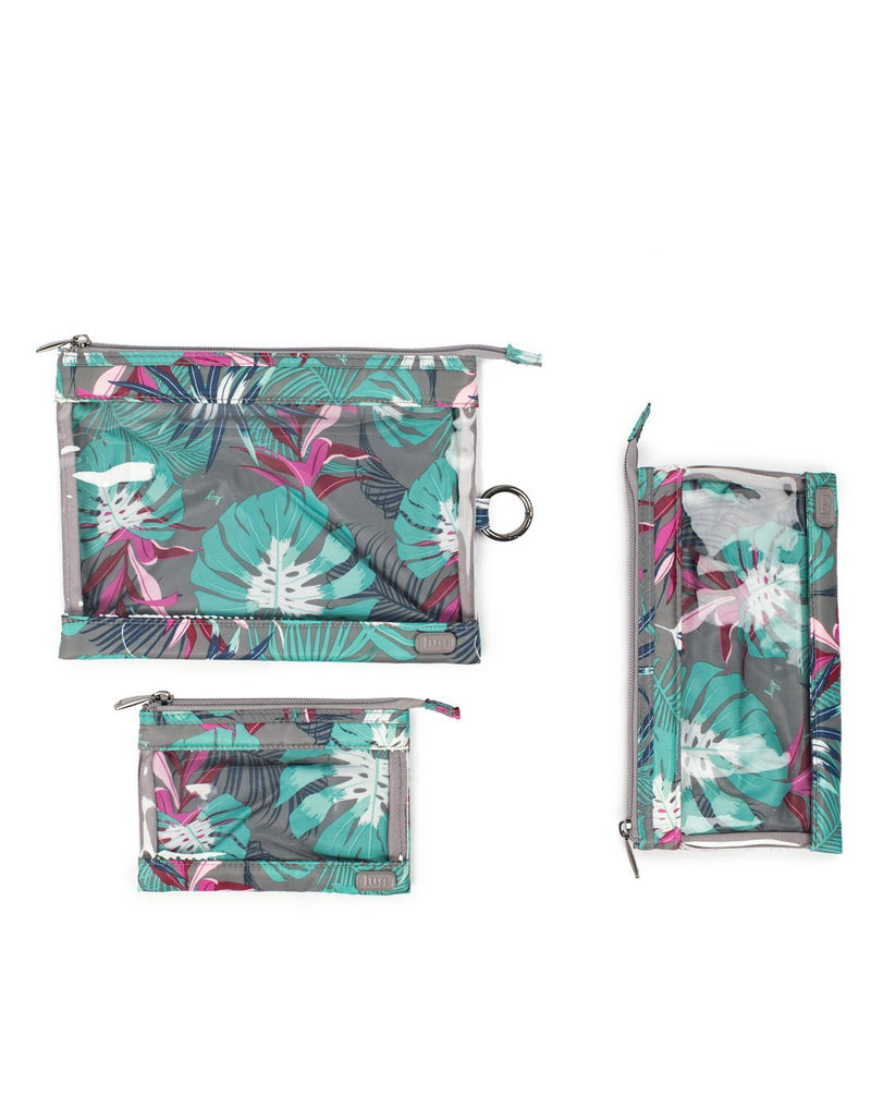Lug botanical multi design transport 3 pack envelopes top view
