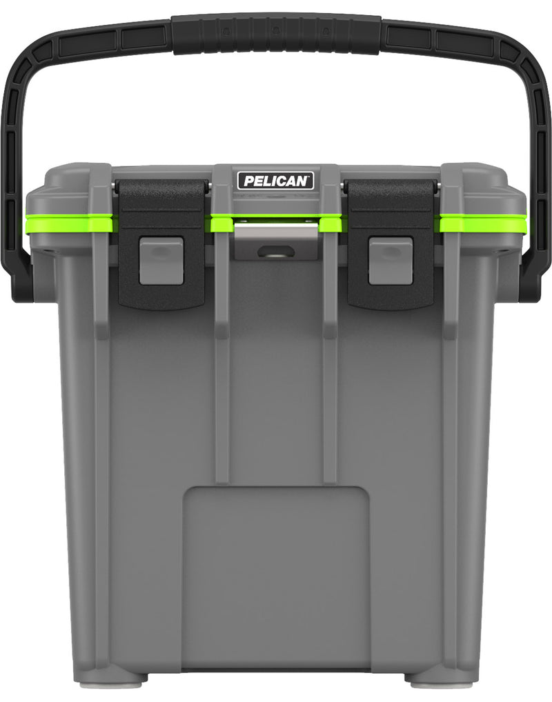 Pelican™ Elite 20qt Cooler - dark grey and green colour, product front view