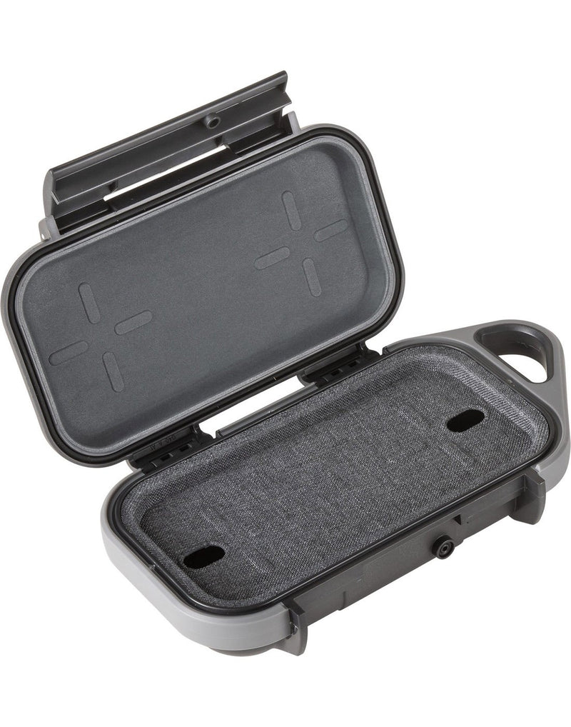 "Pelican goâ""¢ g40 personal utility anthracite / gray colour open view"