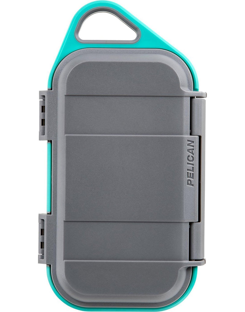 "Pelican goâ""¢ g40 personal utility   slate / teal  colour front view"