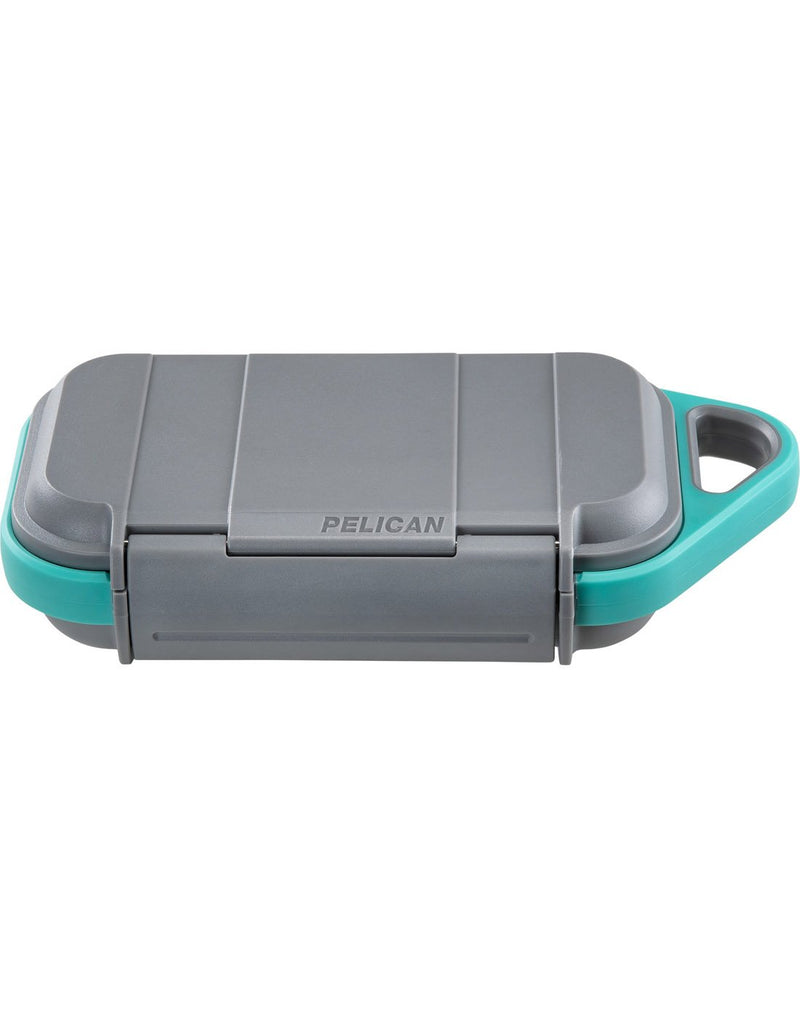 "Pelican goâ""¢ g40 personal utility slate / teal colour corner view"