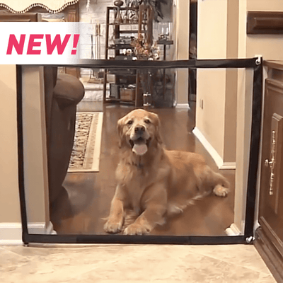 No-Holes Mesh Pet Gate