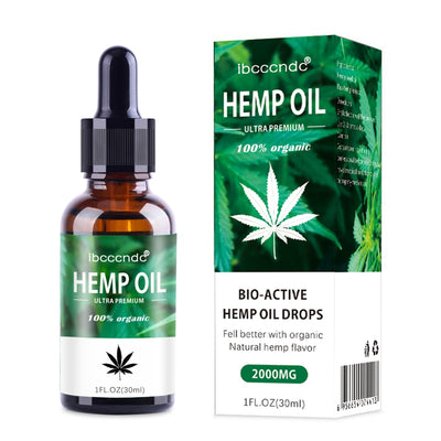 30ml 100% Organic Hemp Oil