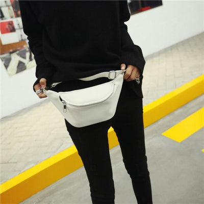 Fashion Faux Leather Fanny Pack