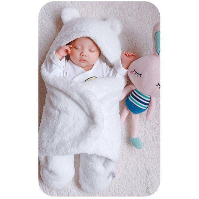 Soft-as-a-Cloud™ Baby Cotton Swaddle Blanket