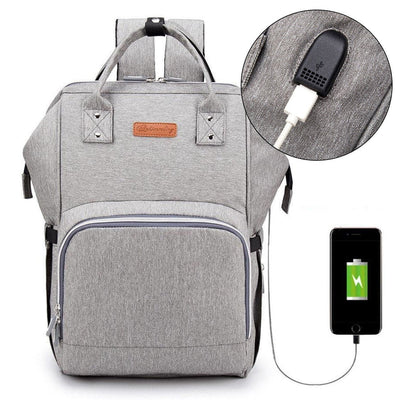 USB Diaper Bag