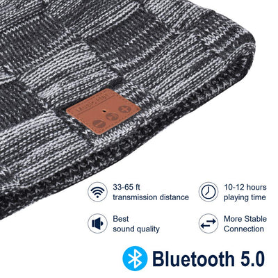 Ski Beanie With HeadSet