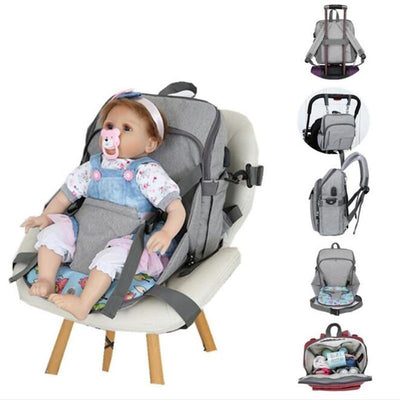 All-In-One USB Diaper Bag
