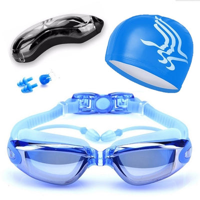The Elite Professional HD Anti-Fog Swim Goggles