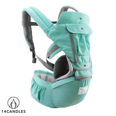 MOMEGE Ergonomic Baby Carrier - Includes FREE Diaper Bag
