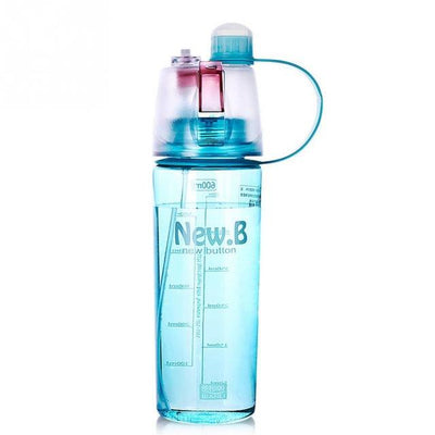 Water Bottle with Spray Button
