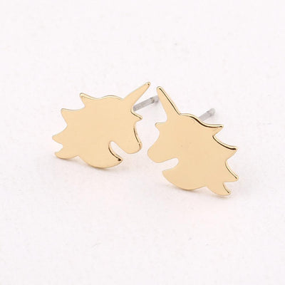 Unicorn Stud Earings