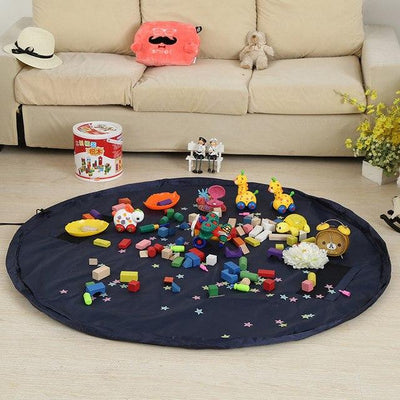 Toy Storage Play Mat Bag